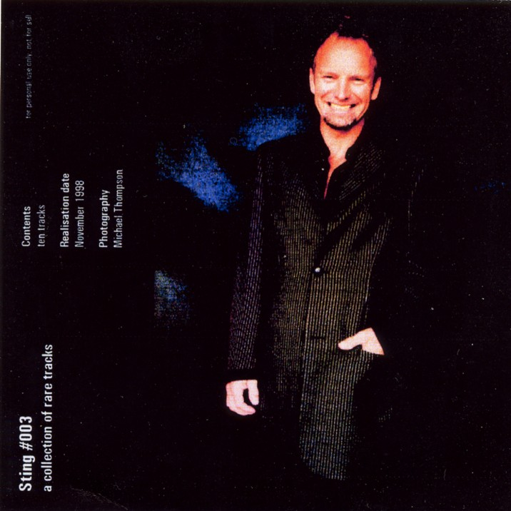 Sting 1991 - Timothy White Sessions front.jpg (94898 Byte)