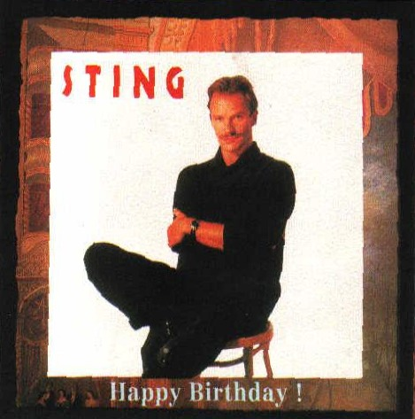 Sting 10021992 Happy Birthday Sting Hollywood Bowl Los Angeles